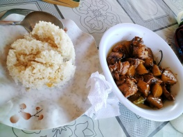 i highly recommend the chicken adobo