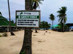 coconut warnings