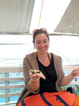 me with my bird on a string