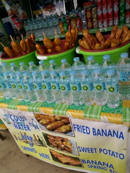 fried bananas are everywhere in Palawan and they are delicious